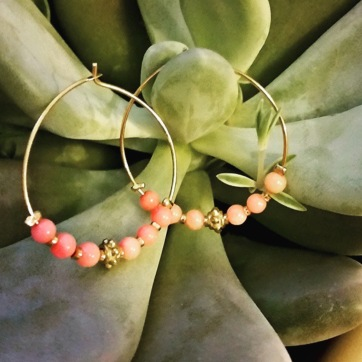 Authentic Coral Hoops