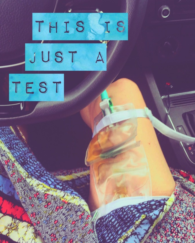 'this is just a test'