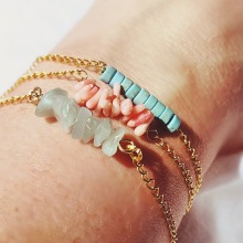 Turquoise, Coral and Jade, Oh My!